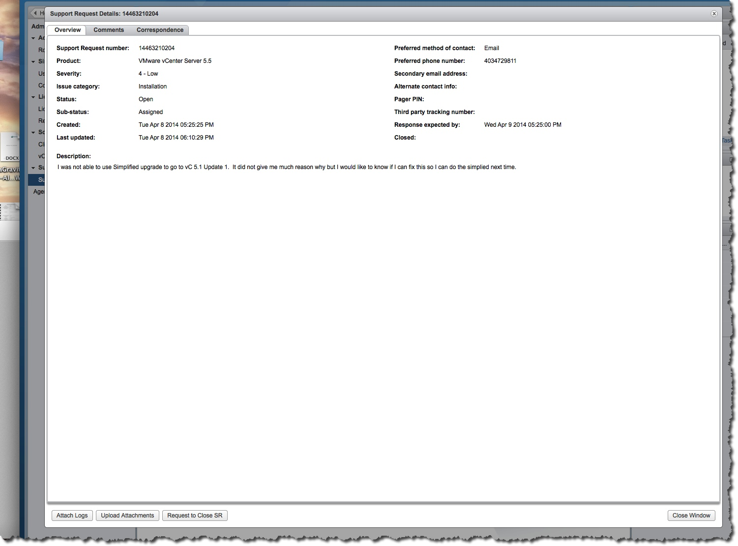 Learning more about VMware vCenter Support Assistant – Notes
