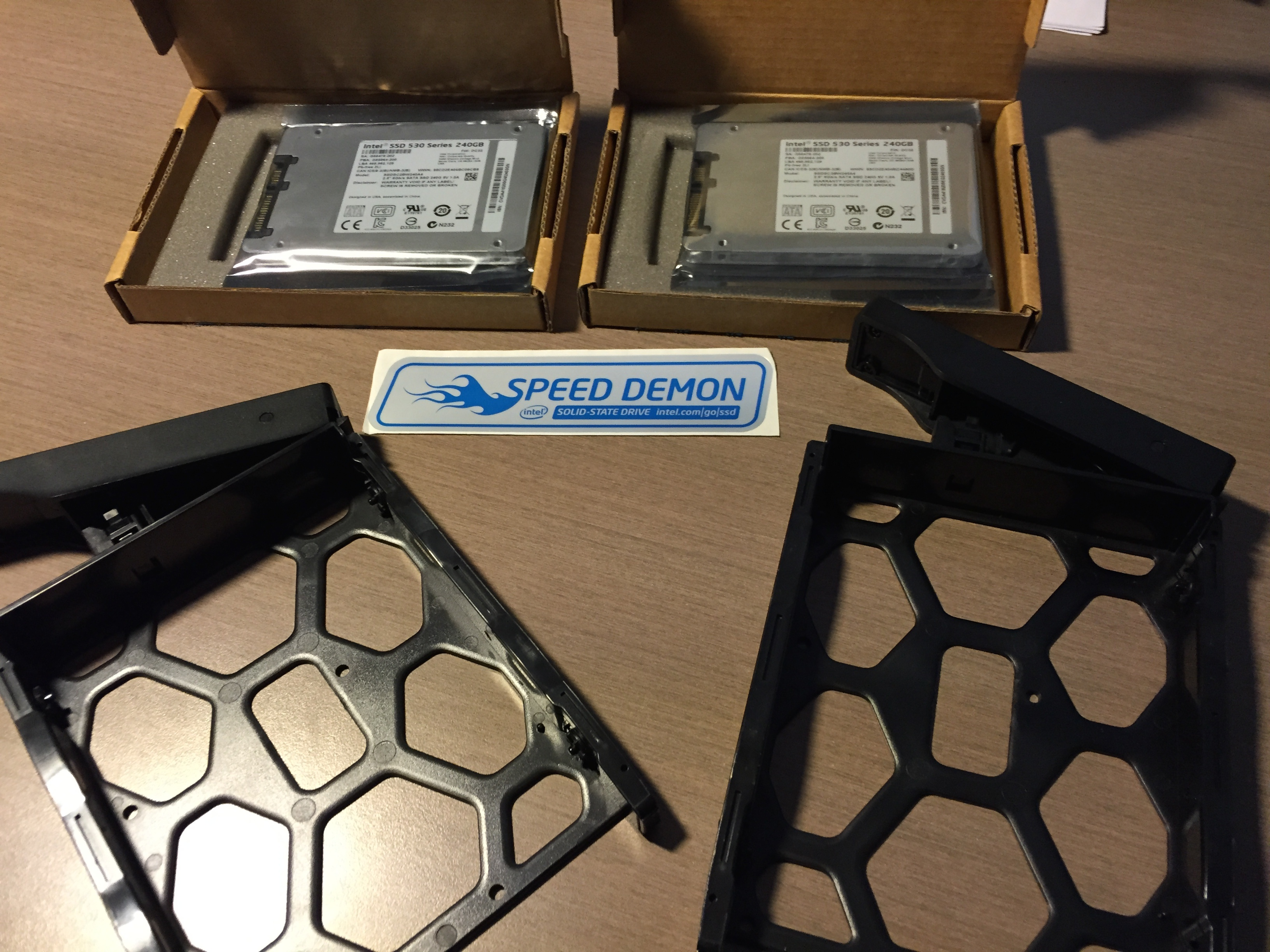 Adding an SSD cache to Synology DS-1813+ – Notes from MWhite