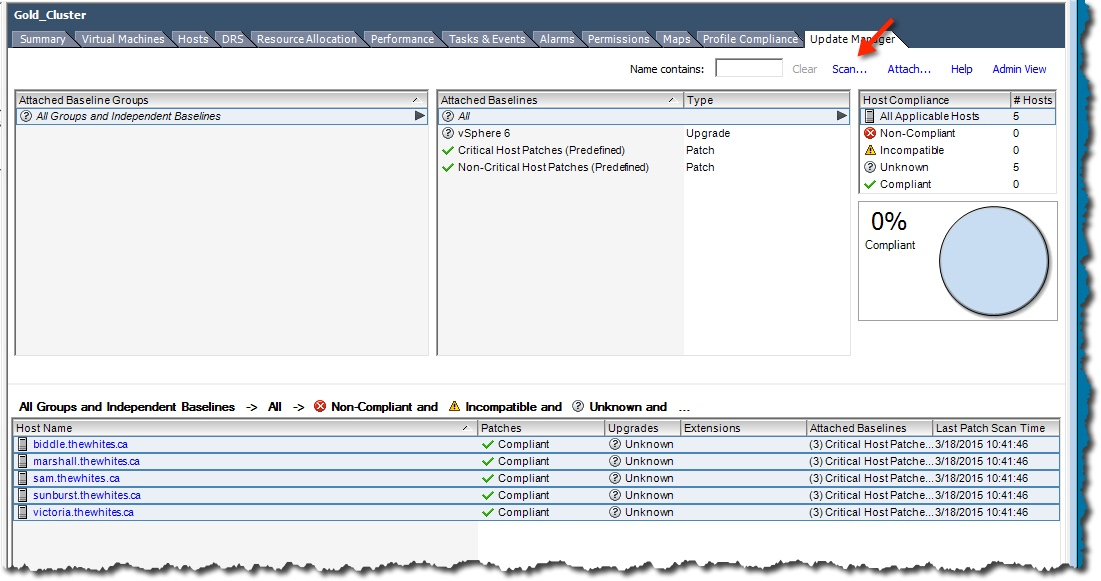 My vSphere 6 Upgrade Experience – Notes from MWhite
