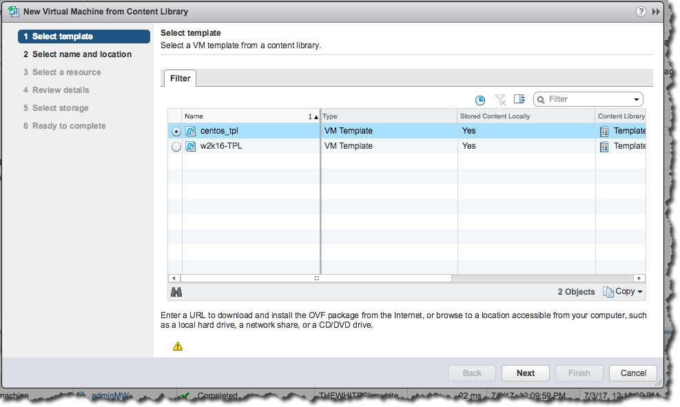 A Primer on vSphere Content Libraries – Notes from MWhite