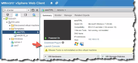 How to build a Windows 7 VMware Template – Notes from MWhite
