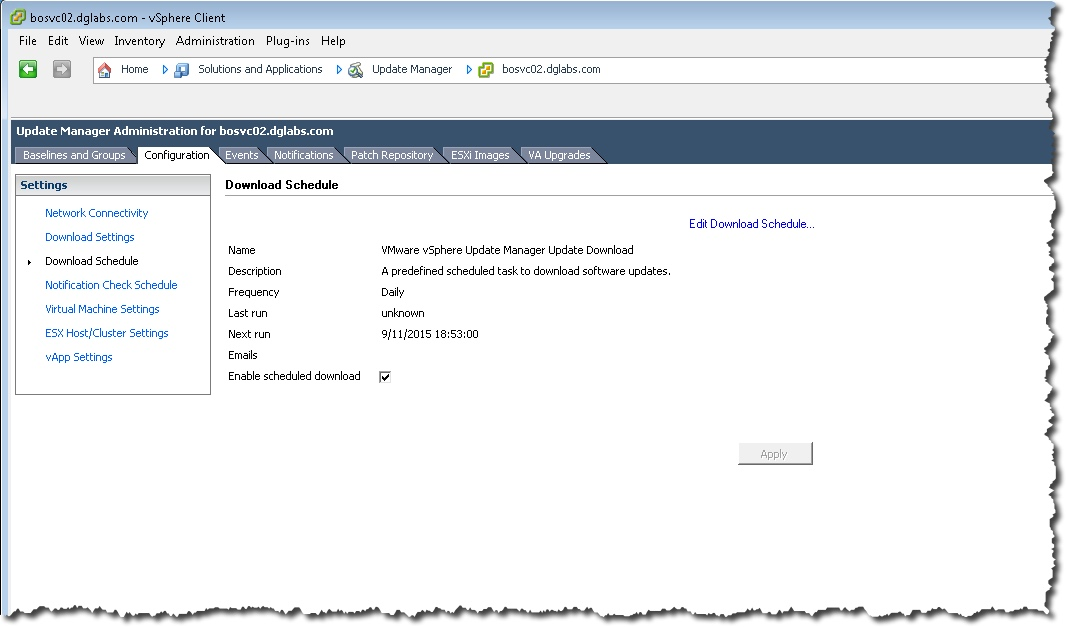 Installing and configuring vSphere 6 0 VMware Update Manager