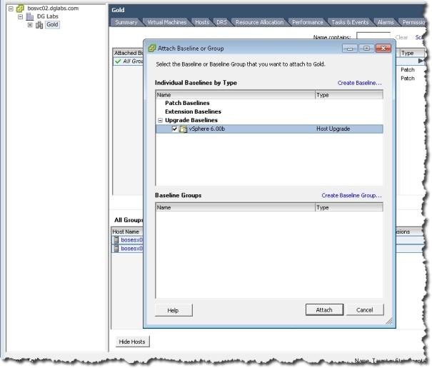 how to get hte base image of esxi in vum