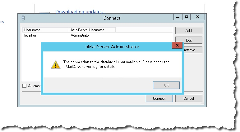 Setup of hMailserver in my lab – Notes from MWhite