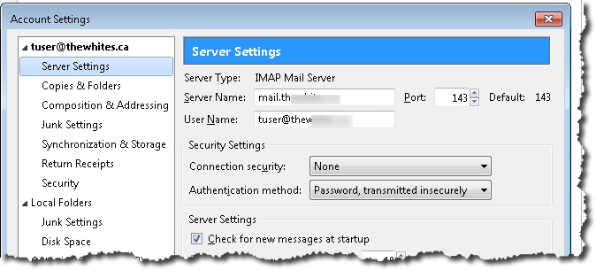 hMailserver and email clients – Notes from MWhite