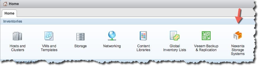 Installing Nexenta's vSphere Web Client plug-in – Notes from