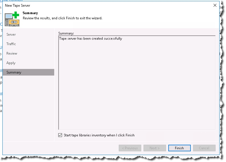 Install / Config of HPE StoreOnce VTL and connecting it to Veeam