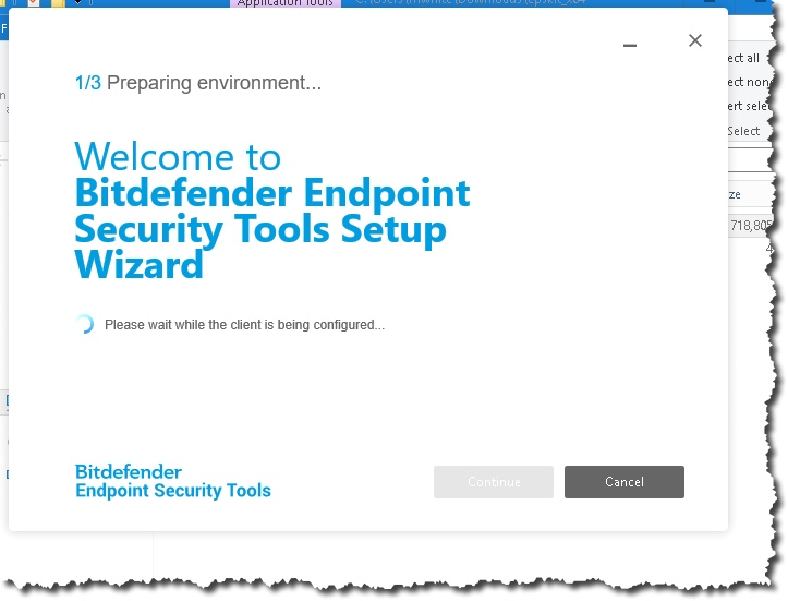 Installing the Bitdefender Clients – Notes from MWhite