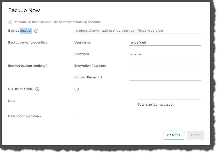 Backing Up VCSA in vSphere 7
